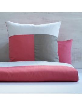 Taie d'oreiller TRIO Flamant rose