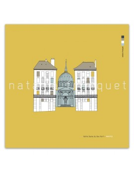 Affiche Notre Dame de Bon Port, Nantes