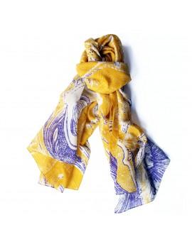 Foulard  PRIMAVERA  jaune